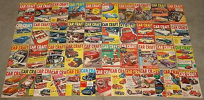 1954-2013 CAR CRAFT MAGAZINE COLLECTION LOT OF 547 DIFFERENT