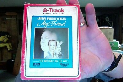 Jim Reeves- My Friend- used 8 Track tape- great shape