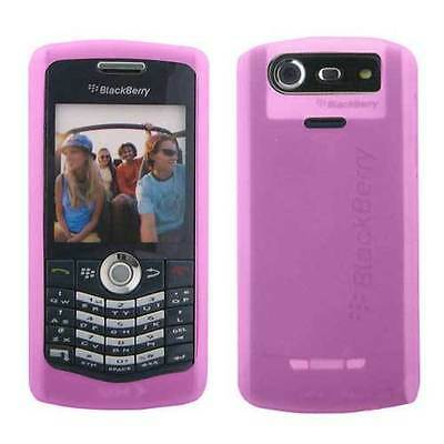 RIM BlackBerry HDW-15911-001 Pink Silicone Skin Cover for Pearl 8120 8130