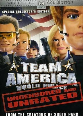 Team America: World Police DVD Region 1, NTSC