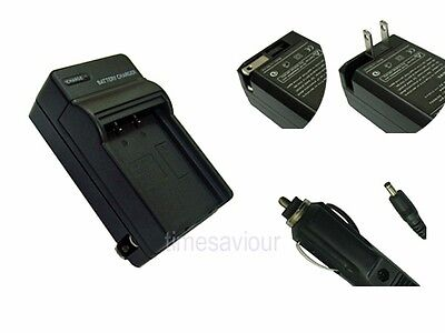 Battery Charger+In Car Adapter for Kodak M522 M530 M5350 M5370