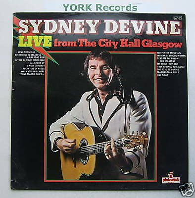 SYDNEY DEVINE - Live - Excellent Condition LP Record