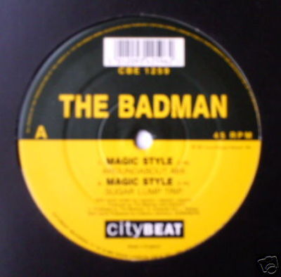 "BADMAN - Magic Style - Excellent Con 12"" Single"
