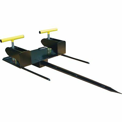 Load-Quip Bale Spear Bucket Attachment - 1800-Lb. Capacity