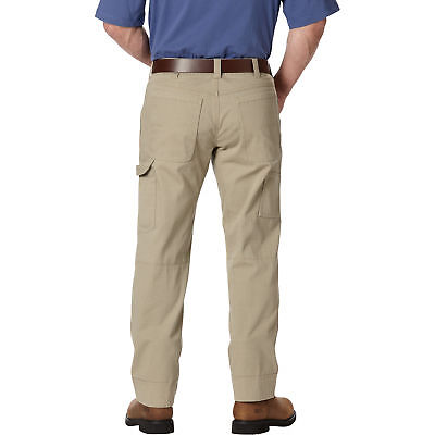 Gravel Gear Ripstop Carpenter Pant with Teflon - Khaki, 38in Waist x 30in Inseam