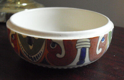 "Vintage Gouda Holland Art Pottery Bowl 190 101 5 1/2"" Wide"