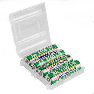 4x AA HR06 7dayshop 2150 mAh Good to Go STAY CHARGED NiMH Rechargeable Batteries