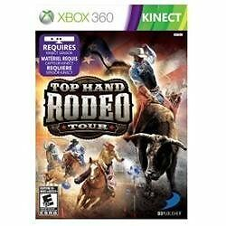 XBOX 360 TOP HAND RODEO TOUR BRAND NEW KINECT VIDEO GAME