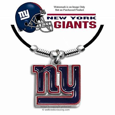 """FREE SHIP - NEW YORK GIANTS NECKLACE for MALE or FEMALE 24"""" NFL GIFT SALE   #bl*"""