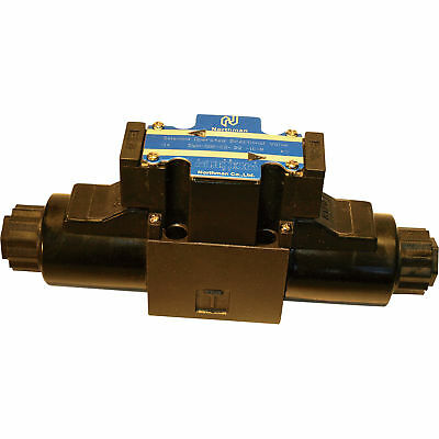 Northman 3-Position Soft Shift Double Solenoid Operated Directional Valve 12 V