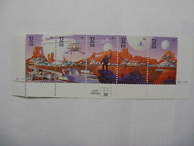 United States Scott  3238 - 3242 Space Discovery strip