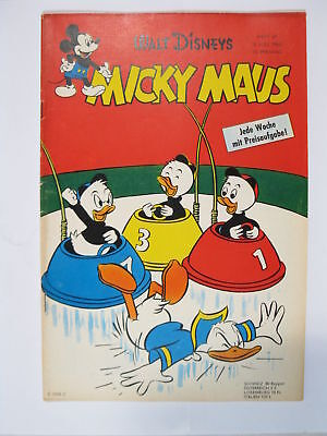 Micky Maus 1960/27  Originalheft vom 2.7. 60  in Z (1-2) 57596