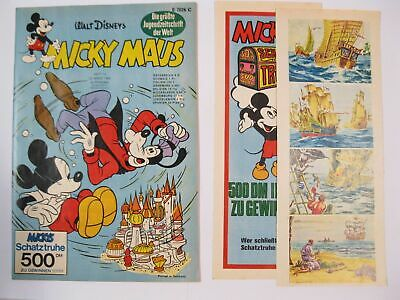 Micky Maus 1969/12  Originalheft vom 22.3. 69  in Z (1  /+lose KS) 57891