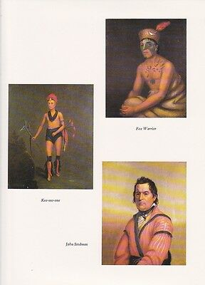 """INDIAN Litho 1972 Vintage Full Color Art Plate /""""I SMOKE PURE TOBACCO/"""" NATIVE AM"""