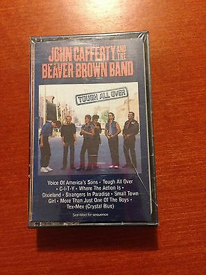 John Cafferty And The Beacher Brown Band-Tough All Over-Cassette-*Sealed*