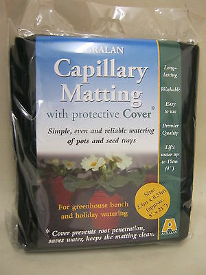 New Agralan Capillary Matting With Protective Cover 2.5m x 0.53m Approx
