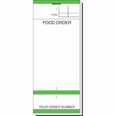1x - Single Sheet Waitress Cafe Pub Restaurant Order Pads Style 84 - Pack of 10
