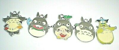 My Neighbor Totoro Pendant Necklace Japanese Anime Studio Ghibli In Gift Bag