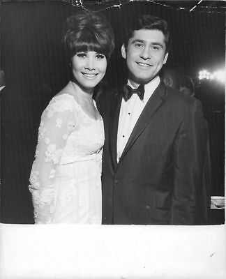 Vintage photo of Michelle Lee with her husband James Farentino.  -