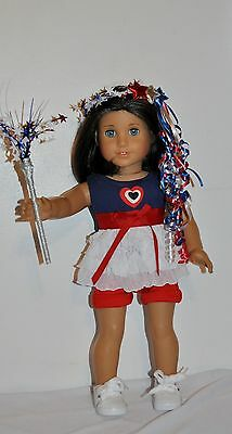 AMERICAN MADE DOLL CLOTHES FOR 18 INCH GIRL DOLLS DRESS LOT 4TH OF JULY