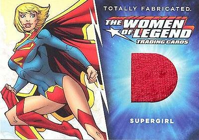 Cryptozoic DC Women Of Legend Totally Fabricated TF-03 Supergirl Costume Card