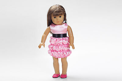 hot Handmade lovely dress clothes for 18 inch American Girl Doll b39