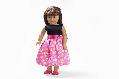 Hotsell Handmade lovely dress clothes for 18 inch American Girl Doll b124