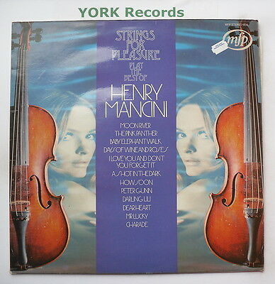 STRINGS FOR PLEASURE - Play The Best Of Henry Mancini - Ex LP Record MFP 5234