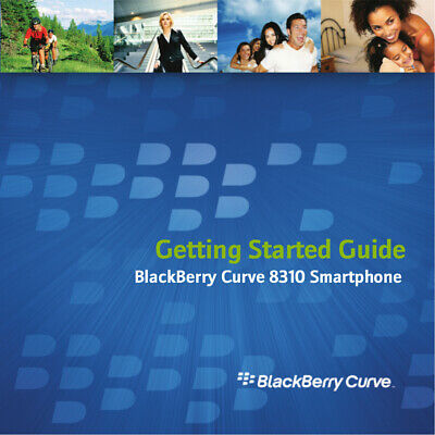 Genuine Blackberry Curve 8310 Manual & CD Software NEW
