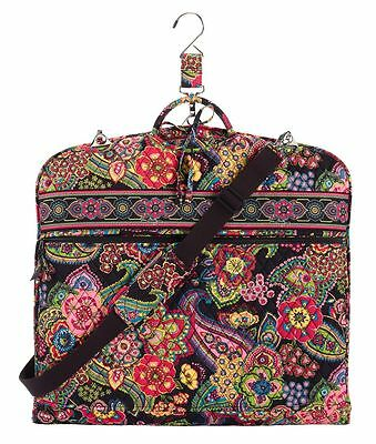 NEW With Tags Vera Bradley Hanging Garment Bag SYMPHONY IN HUE