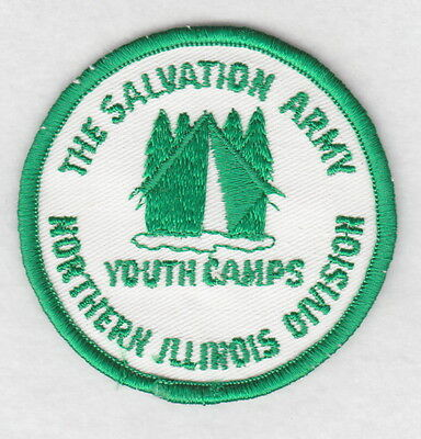 Salvation Army Patch:  Northern Illinois Division Youth Camps