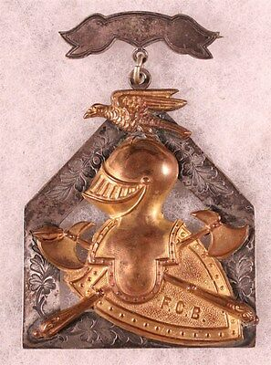 Knights of Pythias Badge - c. late 1800's