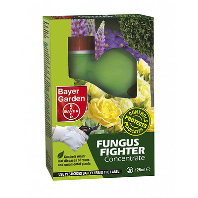 Bayer Fungus Fighter Concentrate 125ml Advanced Systemic Fungicide to Protect