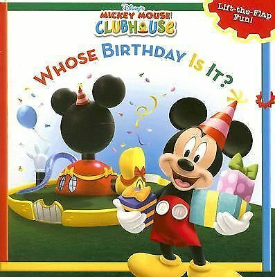 Mickey Mouse Clubhouse Whose Birthday Is It? (Disney's Mickey Mouse Club) by Di