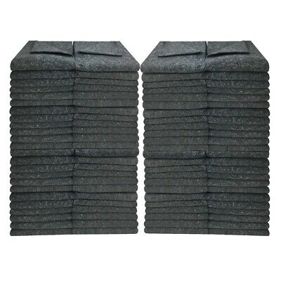 "96 Textile Moving Blankets 54x72"" Professional Quality Moving Skins 1.66lbs/ea"