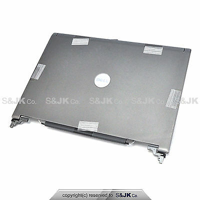 Genuine NEW Dell Latitude D620 D630 D631 LCD Back Cover Lid w Hinges JD104 YT450