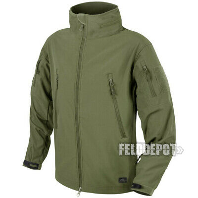 Helikon Tex Gunfighter Shark Skin Soft Shell Jacket Olive Green Windblocker