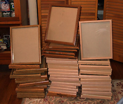 Huge Lot of (50) Used 8x10 Picture Frames !!