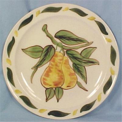 Blue Ridge Pears Astor Salad Plate Fruit Cocktail Set Vintage Pottery