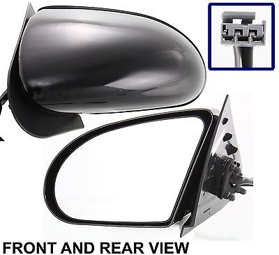 NEW Power Driver Side Side View Mirror for 89-97 FORD THUNDERBIRD