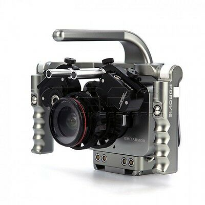 PDMOVIE BMD ARMOR RIG Wireless Follow Focus  Rig FOR BMCC/BMPCC UK