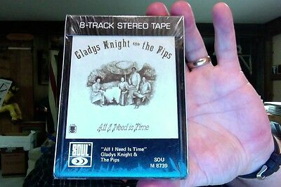 Gladys Knight & the Pips- All I Need Is Time- new/sealed 8 Track tape