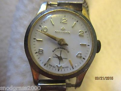 Vintage Manson Swiss Made Electronically Timed Diamond Tooled AntiMagnetic Watch