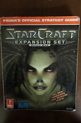 Starcraft Expansion Set: Brood War Prima's Official Strategy Guide