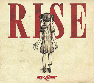 Skillet-  Rise [Digipak] CD/DVD Deluxe Edition 2013 Atlantic Records  * NEW *
