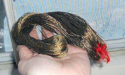 Antique Skein Gold EMBROIDERY THREAD France Metal Metallic bullion French #1511