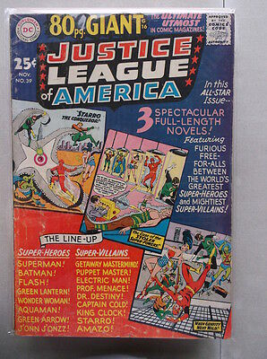 Justice League of America Vol. 1 (1960-1987) #39 VG