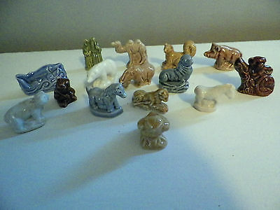 Lot of 15 WADE RED ROSE TEA FIGURES