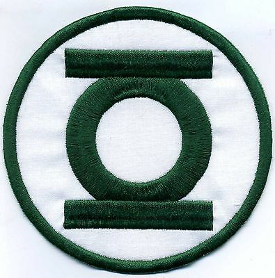 """5"""" Green Lantern Corps Classic Style Embroidered Patch"""