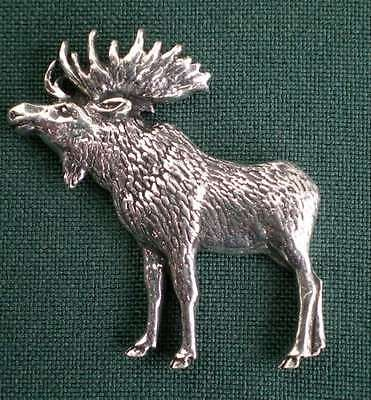 ELCH ANSTECKNADEL PIN A47 STANDING MOOSE